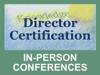 Director Certification: Conferences